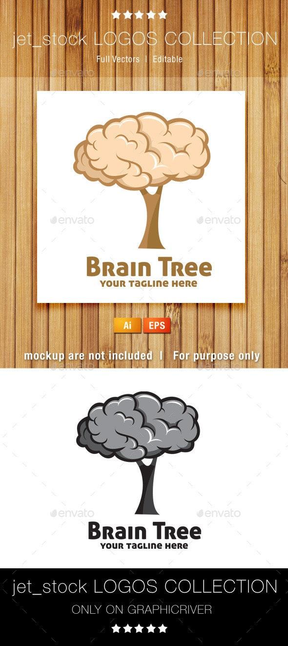 Brain Tree - Nature Logo Templates