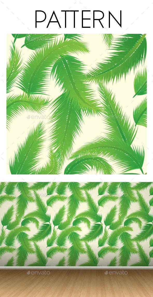 Palm Leaf Pattern  - Patterns Decorative