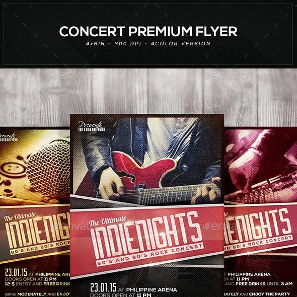 Concert Premium Flyer V.1