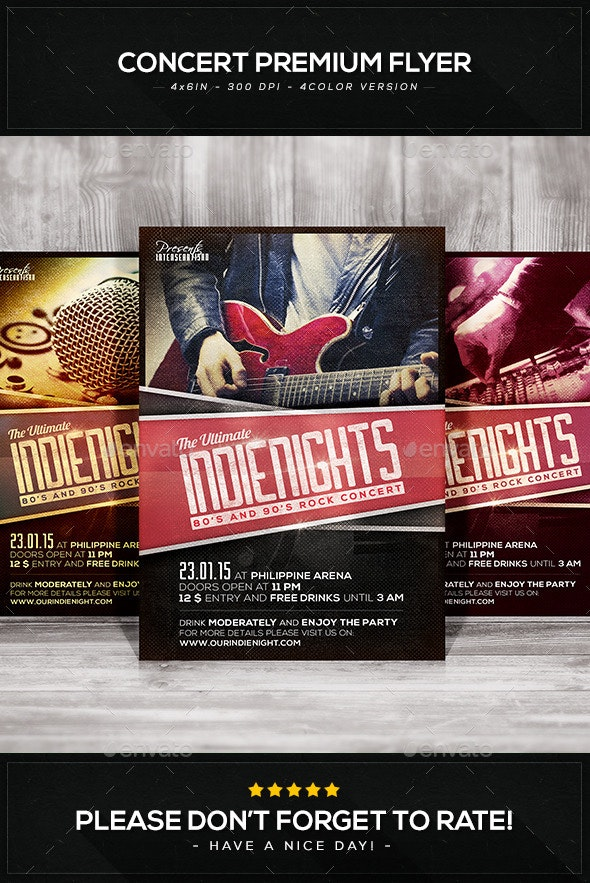 Concert Premium Flyer V.1 - Concerts Events