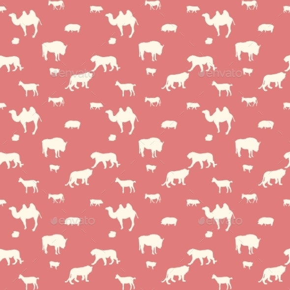 Wild Animals Pattern - Animals Characters