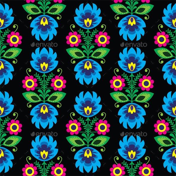 Folk Pattern - Patterns Decorative