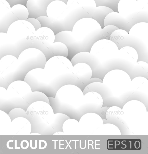 Abstract White Cloud Paper Background. - Miscellaneous Vectors