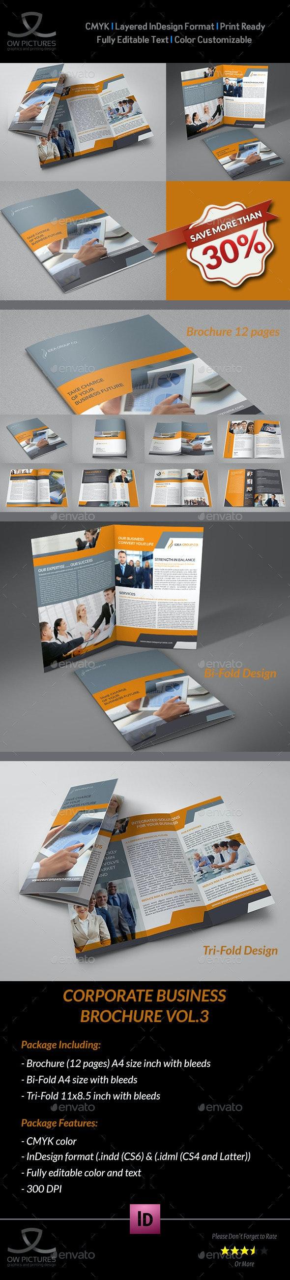Company Brochure Bundle Vol.3 - Corporate Brochures