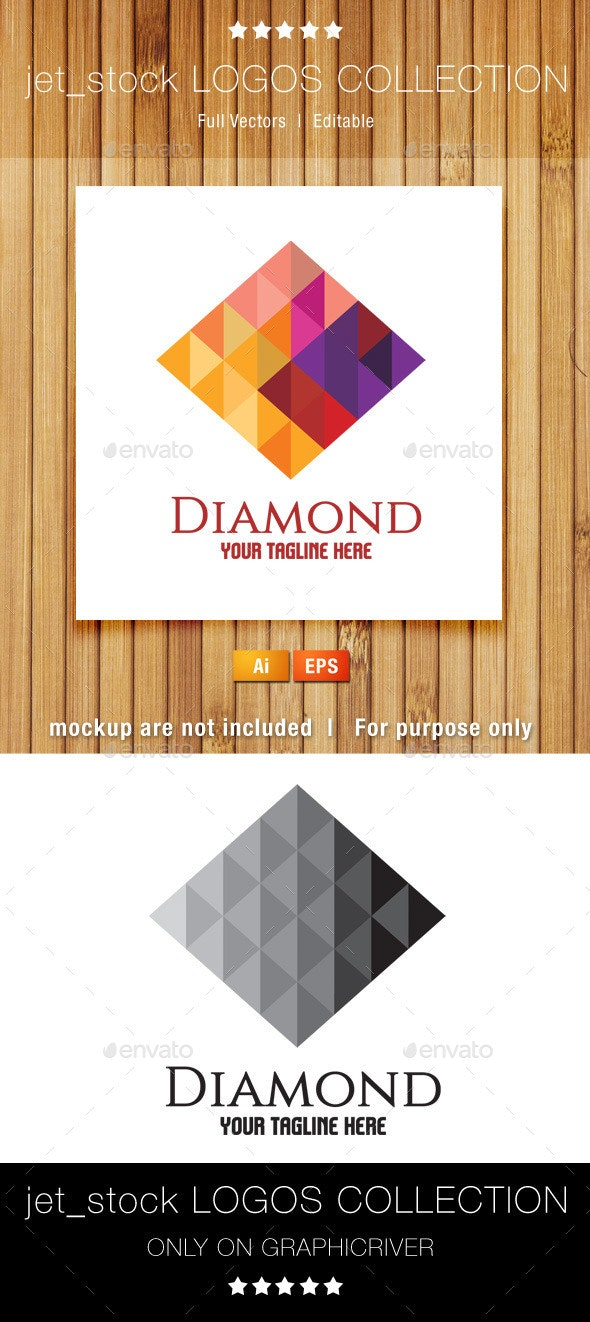 Diamond - Vector Abstract