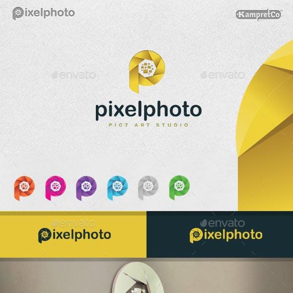 Pixel Photo Logo