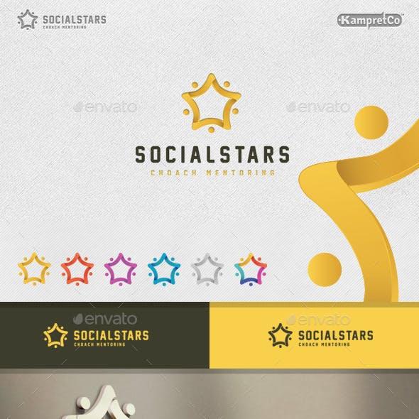 Social Stars Logo