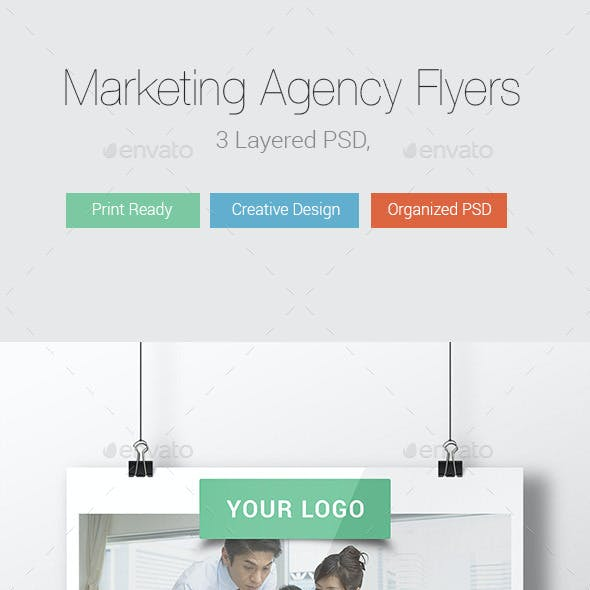 Marketing Agency Flyer Templates