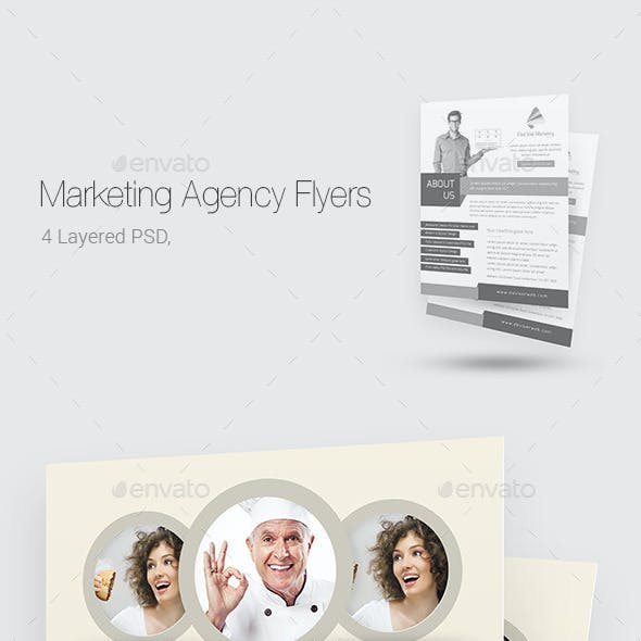 Creative Marketing Agency Flyer/Poster Templates