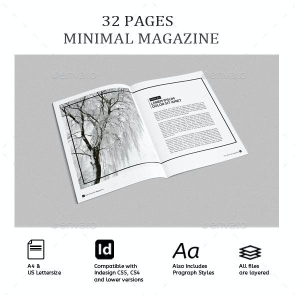 Magazine Template - InDesign 32 Page/ Catalog