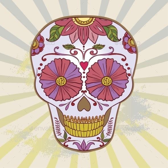 Sugar Skull - Halloween Seasons/Holidays
