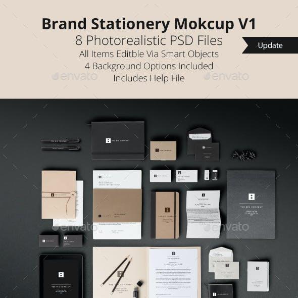 Brand Stationery Mockup V1