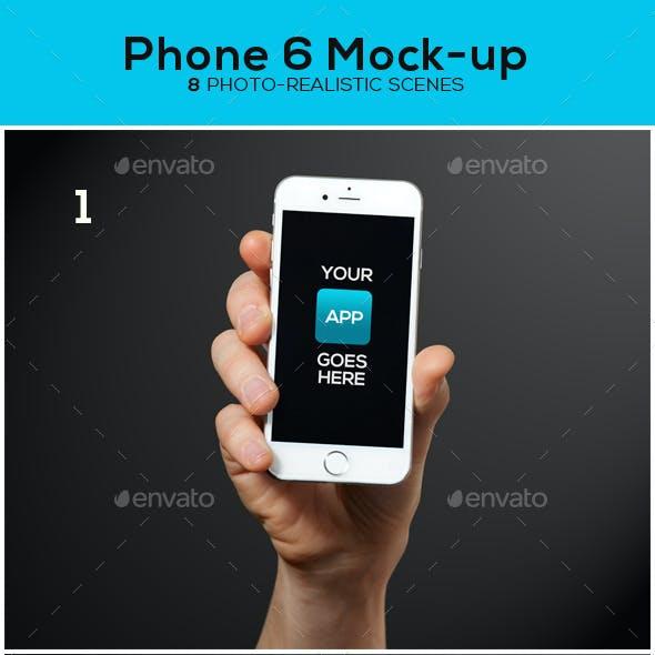 Phone 6 Mock-up
