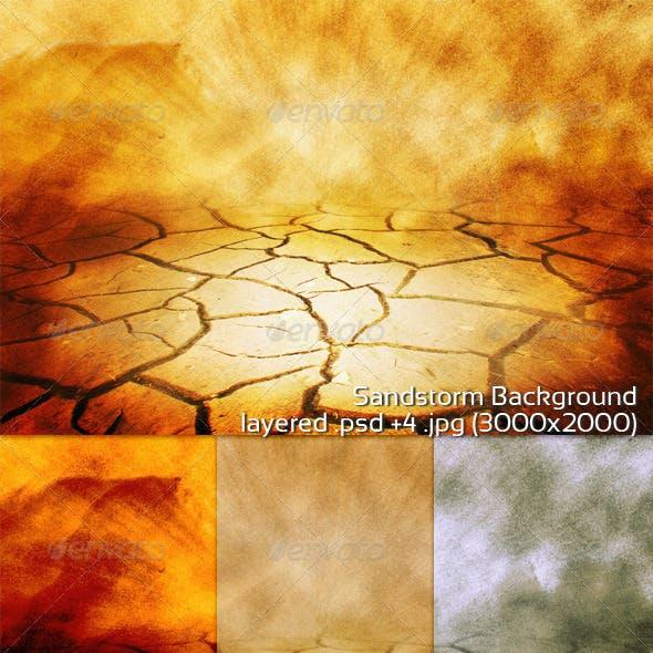 Sandstorm Background