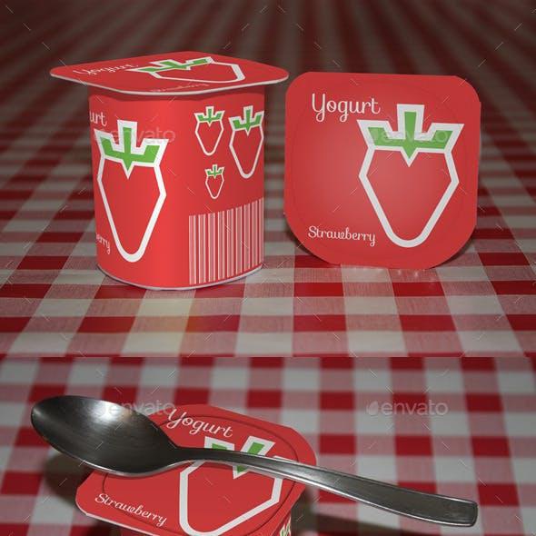 Yogurt Mock-Up