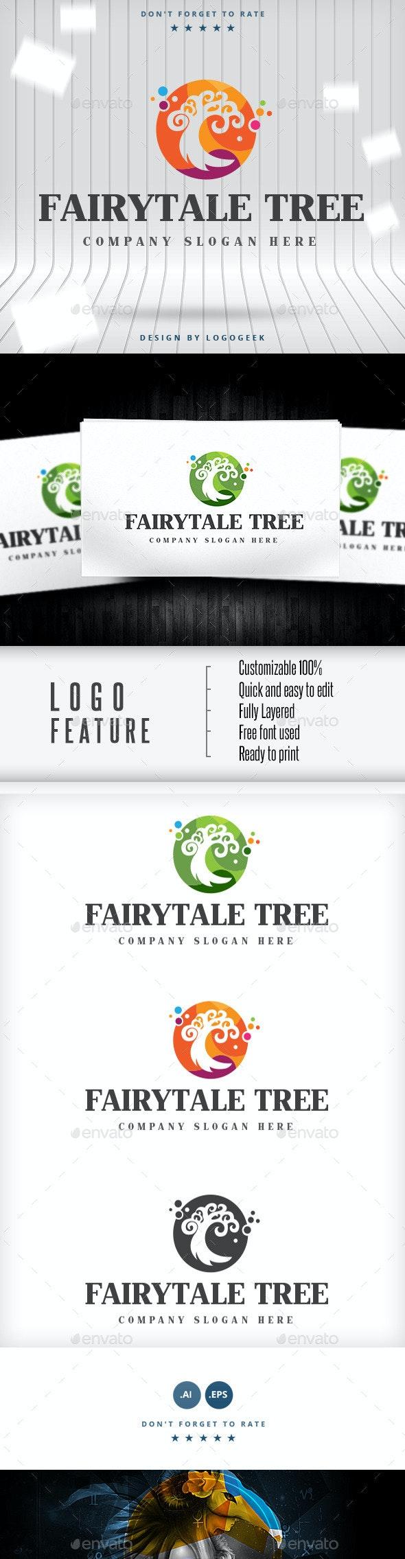 Fairytale Tree Logo - Logo Templates