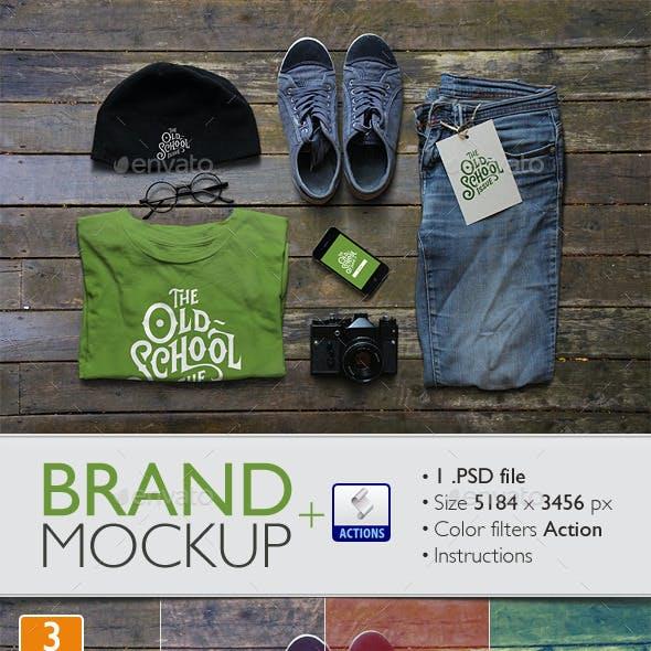 Brand Mockup Template