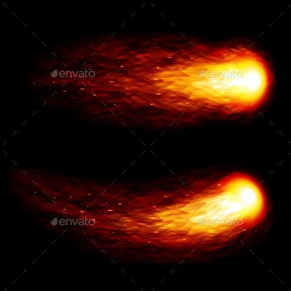 Fireball - Abstract Conceptual