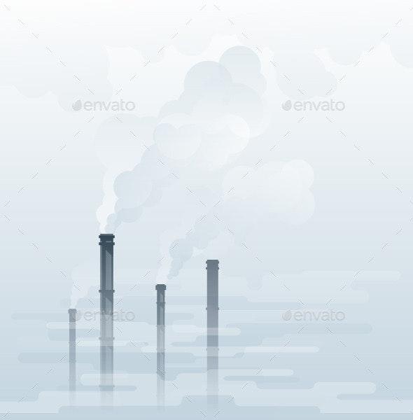 Air Pollution - Miscellaneous Vectors