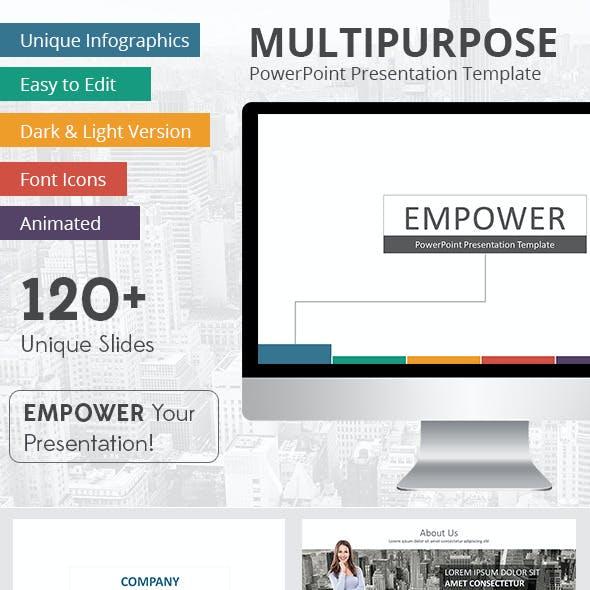 Empower PowerPoint Presentation Template