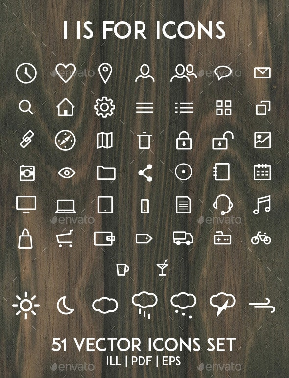 I is for Icons - Icons