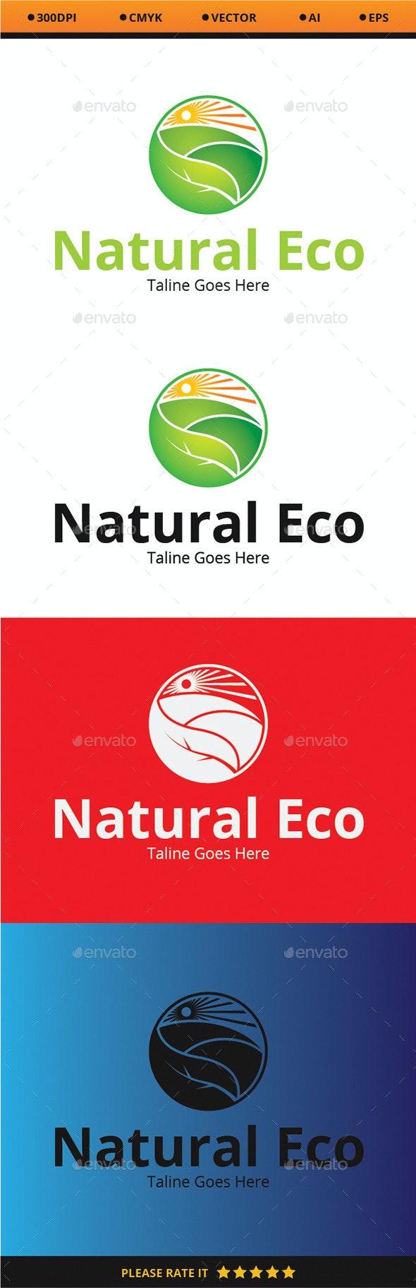 Natural Eco - Nature Logo Templates