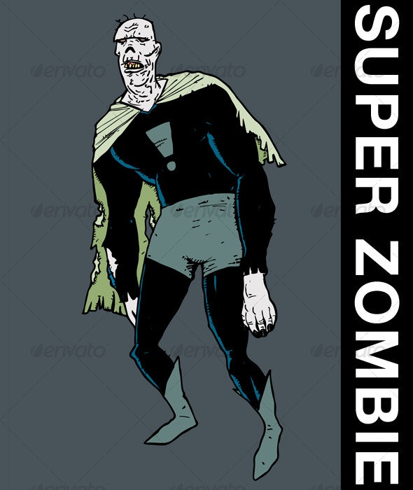 Super Zombie - Monsters Characters