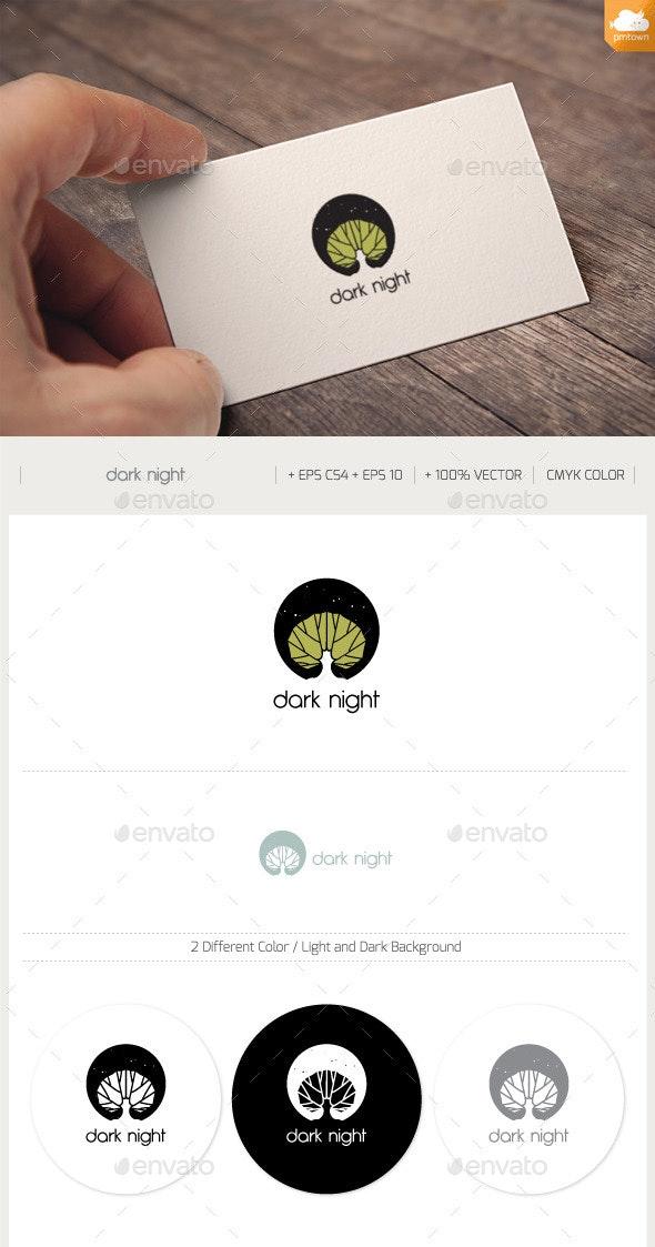 Dark Night - Nature Logo Templates