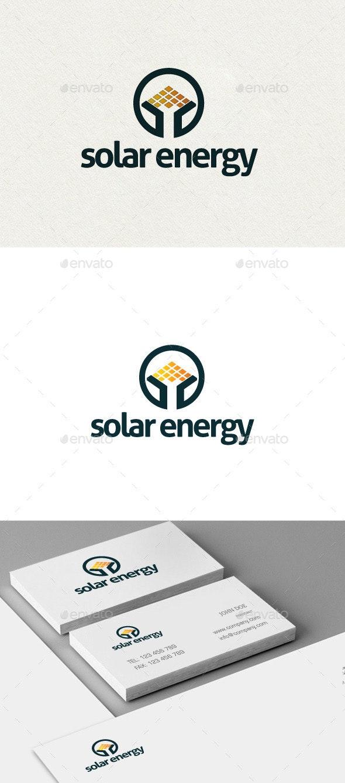 Solar Energy Logo - Nature Logo Templates