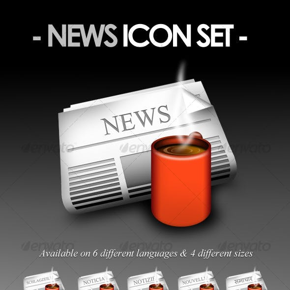 News Icon Set