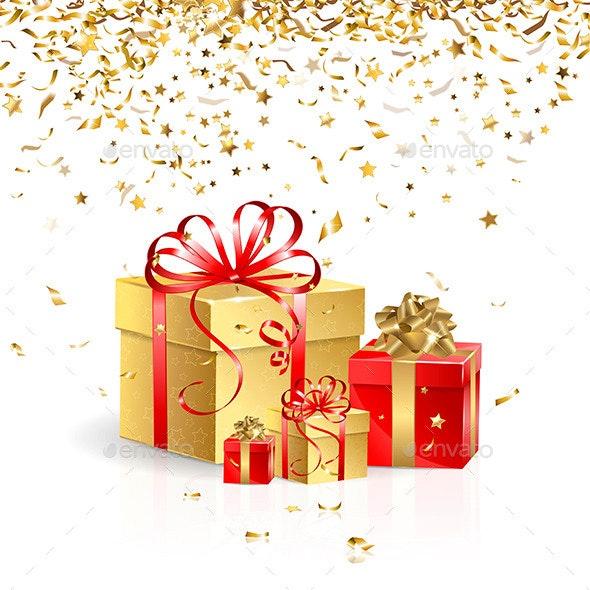 Gift Boxes - Miscellaneous Seasons/Holidays