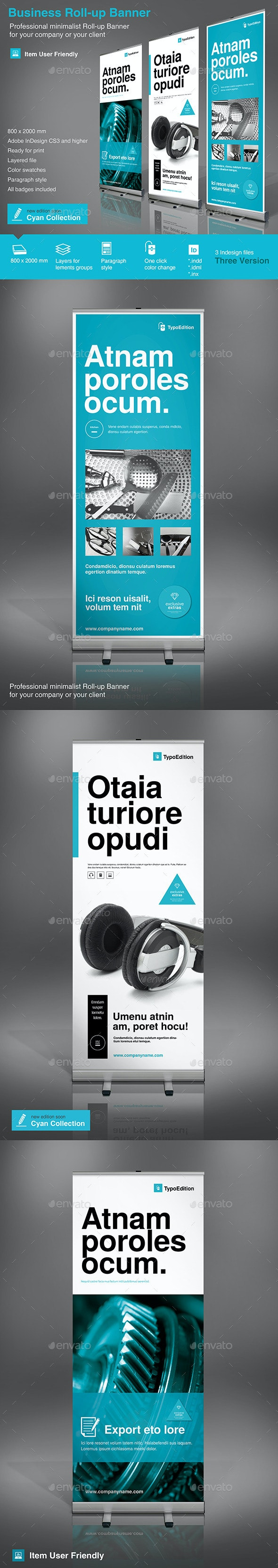 Roll-up Business - Signage Print Templates