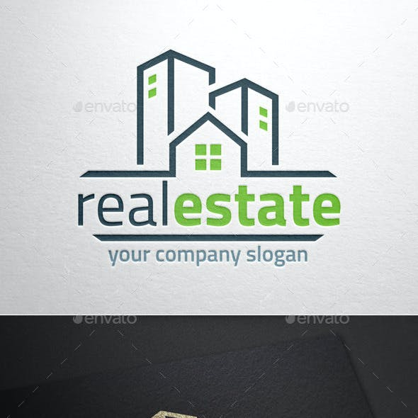 Real Estate Logo Template v2