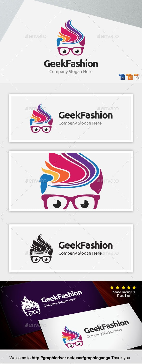 Geek Fashion - Humans Logo Templates