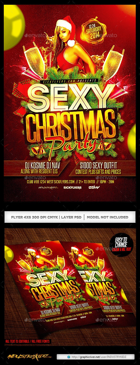 Sexy Christmas Flyer - Holidays Events