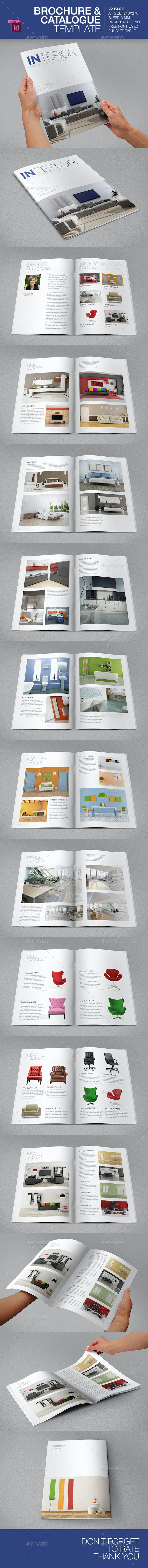 Brochure/Catalogue Template - Brochures Print Templates