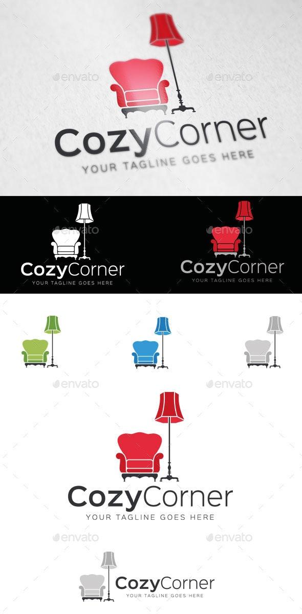 Cozy Corner Logo Template - Objects Logo Templates