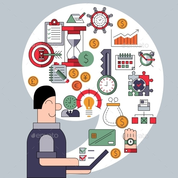 Time Management Concept - Concepts Business
