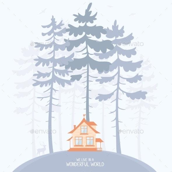 Pine and Lodge - Seasons Nature