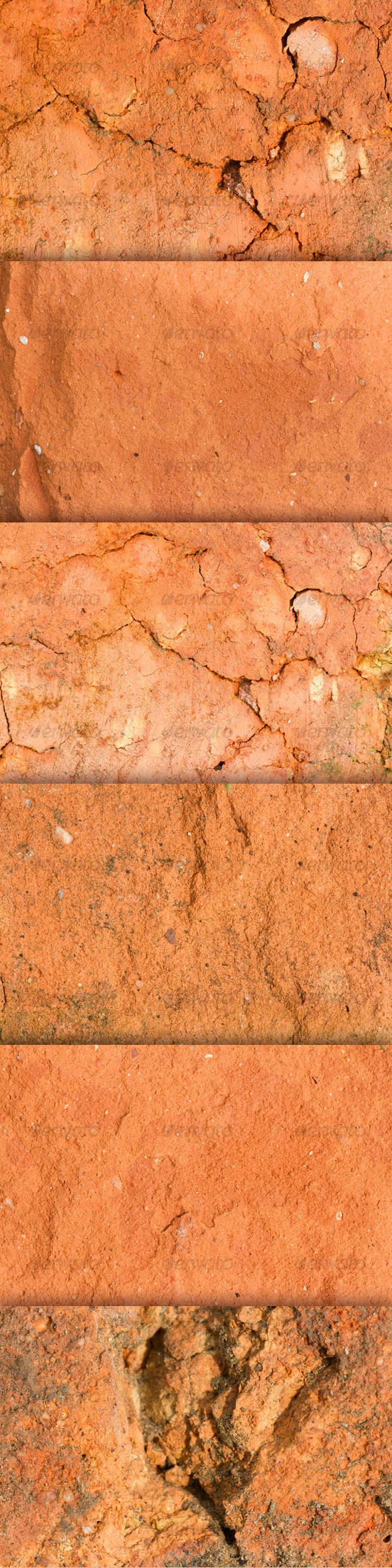 Old Red Brick Texture Pack - Industrial / Grunge Textures