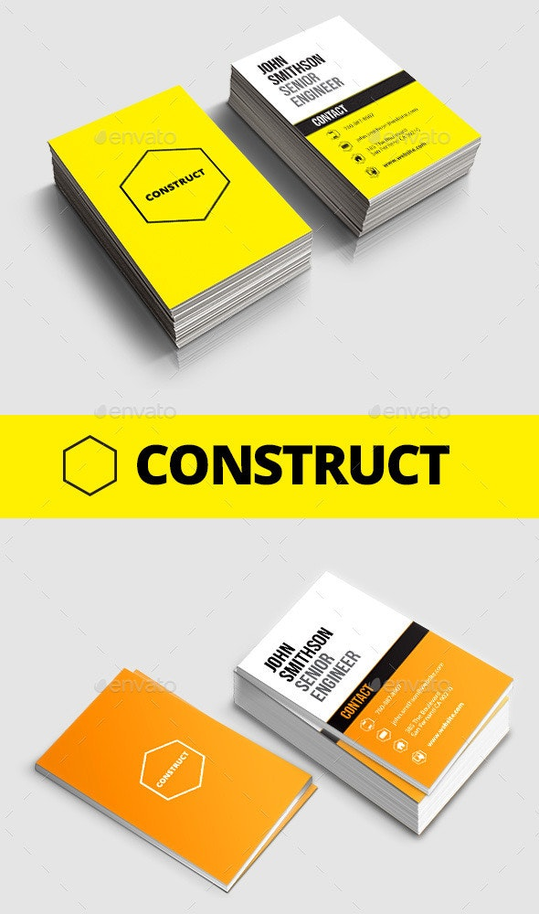 Construct Business Card - Creative Business Cards