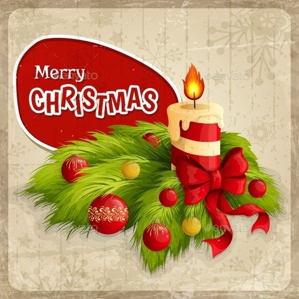 Christmas Retro Poster - Christmas Seasons/Holidays