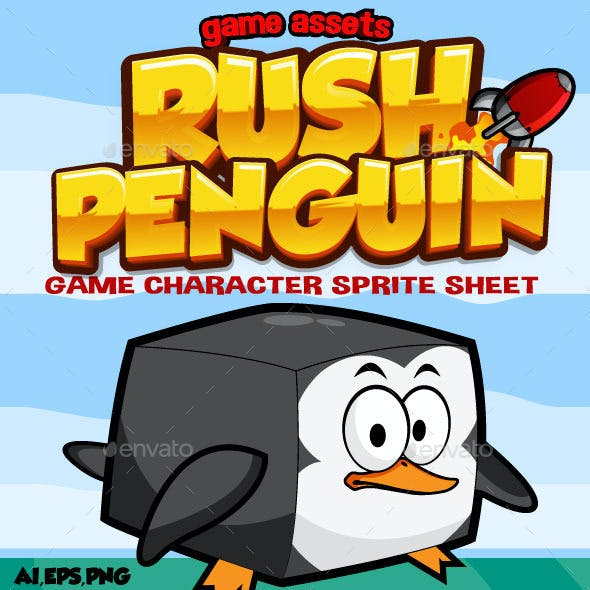 Rush Penguin: Game Character
