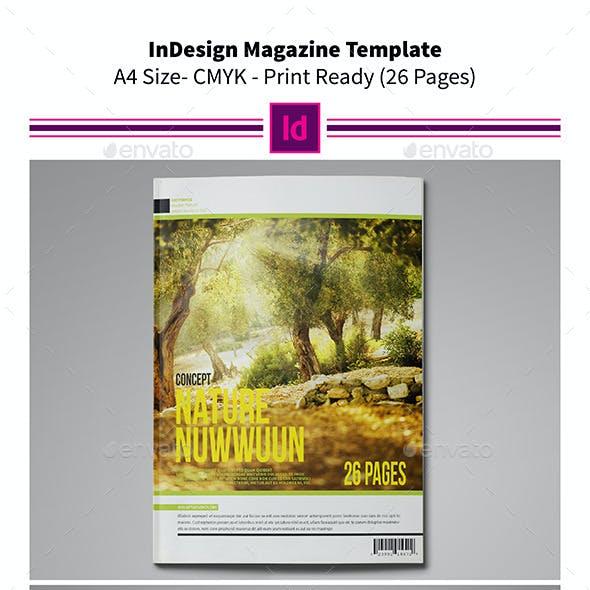 Nature MagazineTemplate 26 Pages