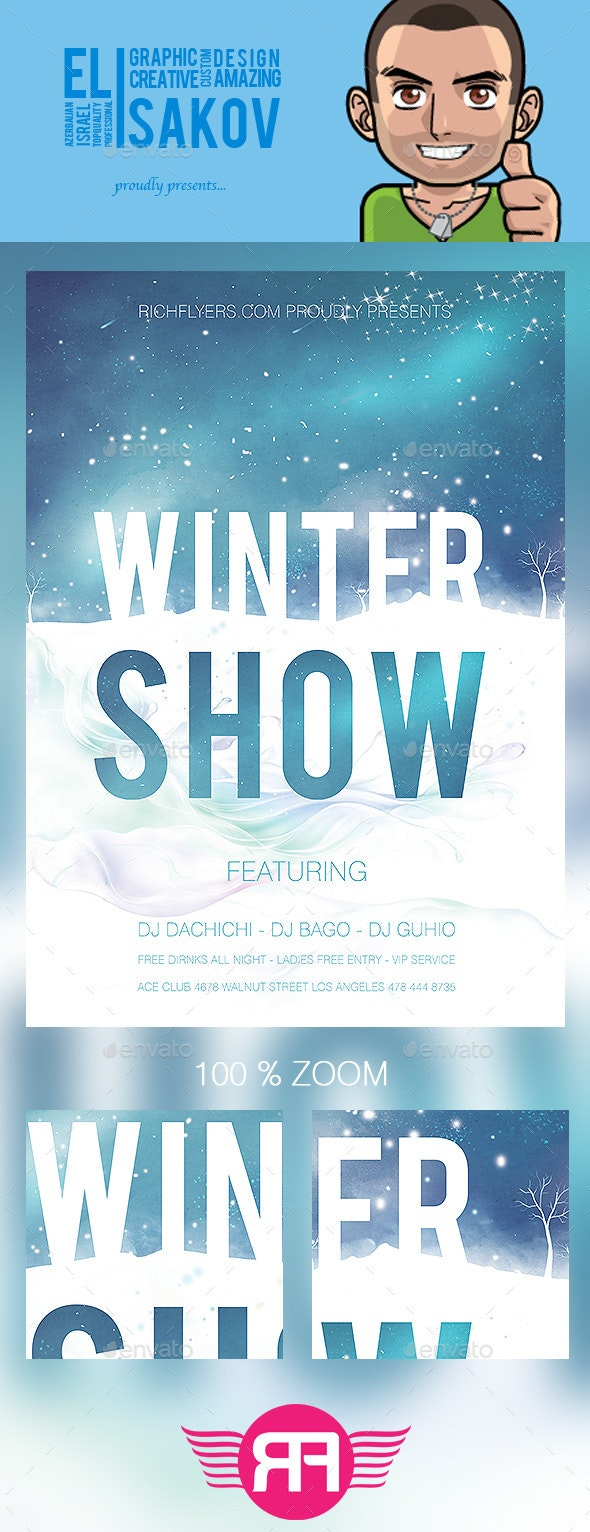 Winter Show Flyer - Events Flyers