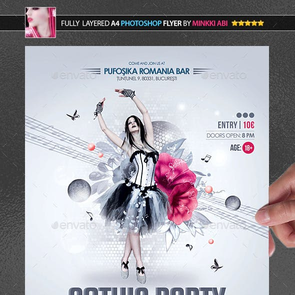 Gothic Party Poster/Flyer