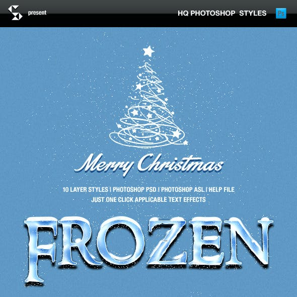 Winter Style Text Effects