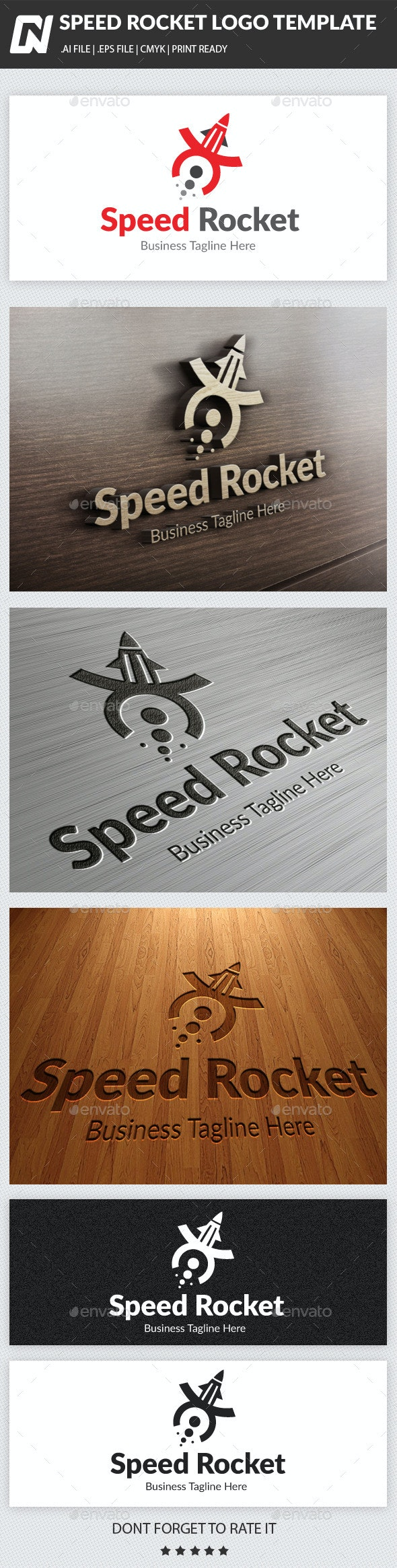 Speed Rocket - Logo Templates