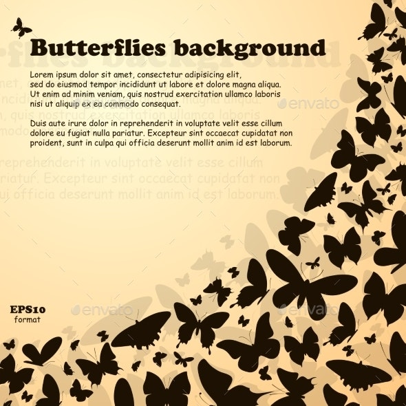 Butterfly Swirl - Animals Characters