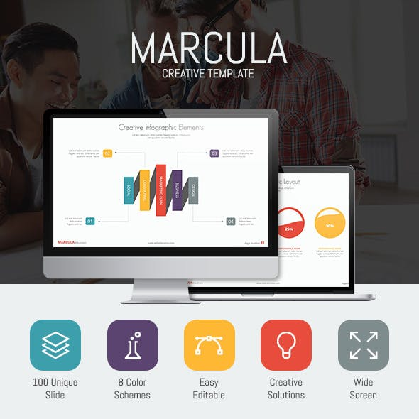 Marcula - Presentation Template